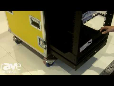Integrate 2016: Penn Elcom Showcases New R8010 Slide and Rotate Rack
