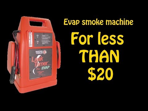 Best DIY Smoke Machine to test vacuum/evap leaks you can make for less than $20
