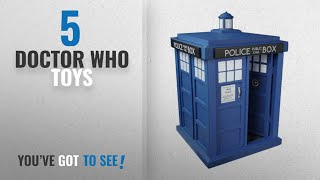 Top 10 Doctor Who Toys [2018]: Funko 5286 POP TV: Doctor Who Tardis 6-Inches Action Figure