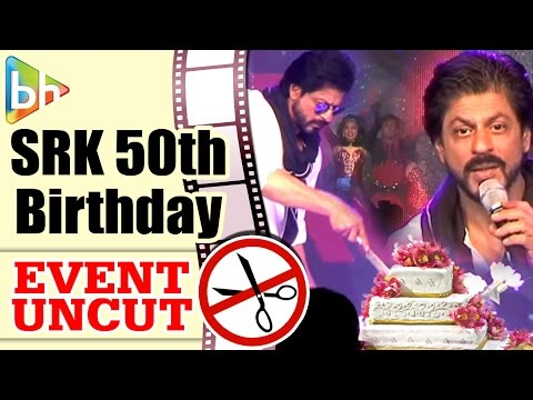 Shah Rukh Khan Interacts With Media On The Occasion Of His 50th Birthday | Event Uncut