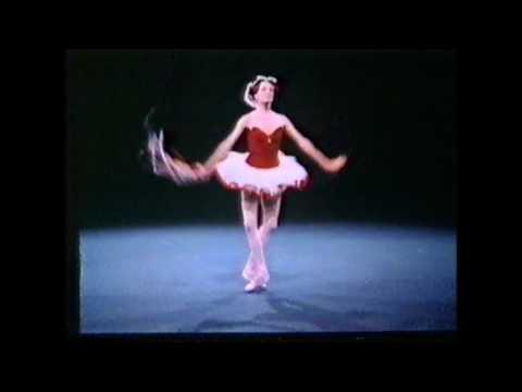Tarantella (George Balanchine): Patricia McBride & Edward Villela - New York City Ballet