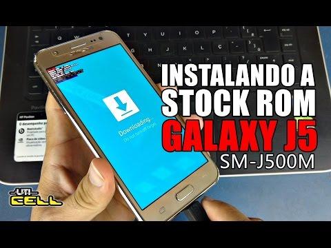 Instalando a ROM/Firmware no Samsung Galaxy J5 (SM-J500M) #UTICell