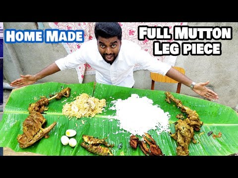 Veetu Virunthu | Full Mutton Leg Piece Cooking Dan JR Chennai Vlogger |MEDAVAKKAM VELACHERY|