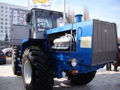 Модернизированный трактор Т-150К / HTZ T-150 modernized