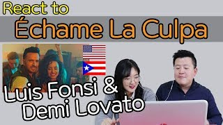 Download Lagu Luis Fonsi, Demi Lovato - Échame La Culpa Reaction [Koreans React] / Hoontamin Gratis STAFABAND