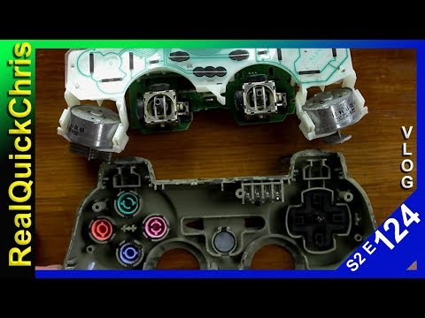 how to fix a ps3 controller that moves by itself s2e124