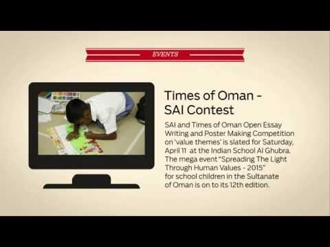 Monitored transport for Indian schools in Oman - Daily Digest, March 16, 2015