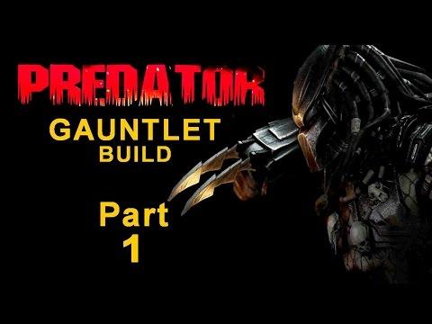Predator Blade Gauntlet  Build Part 1