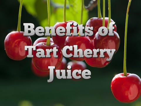 Benefits of tart cherry juice - #juicydrinkcom