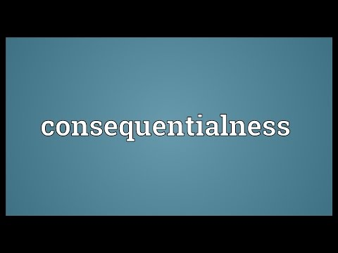 Header of consequentialness