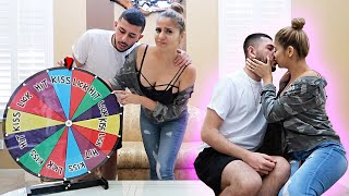 EX-COUPLE PLAYS AWKWARD SPIN THE WHEEL GAME!