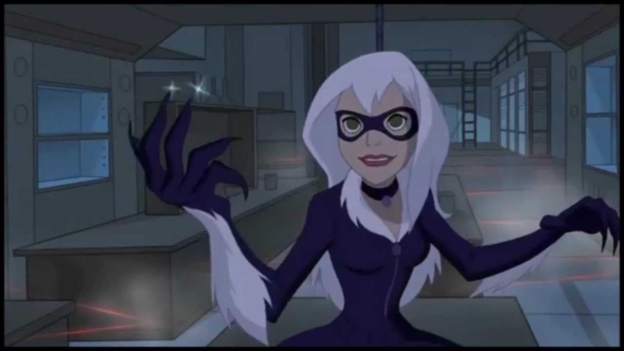 Displaying 19 gt  Images For - Ultimate Spider Man Tv Series Black Cat   Ultimate Spider Man Tv Series Black Cat