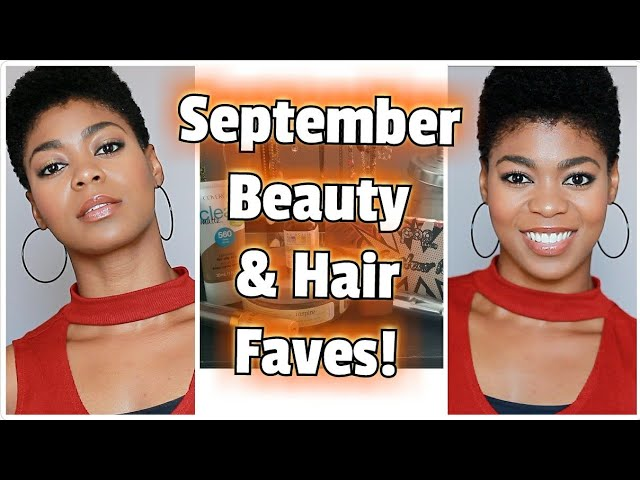 September Beauty & Hair Faves 2017! - (Covergirl, By Made Beautiful, Pop Beauty, etc.) - NaturalMe4C
