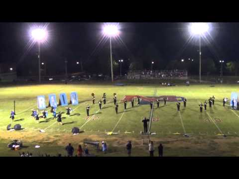 Loretto High School Band - September 26, 2014 - Mount Pleasant