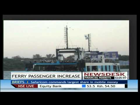 Kenya Ferry Services projects increase in daily ferry passengers