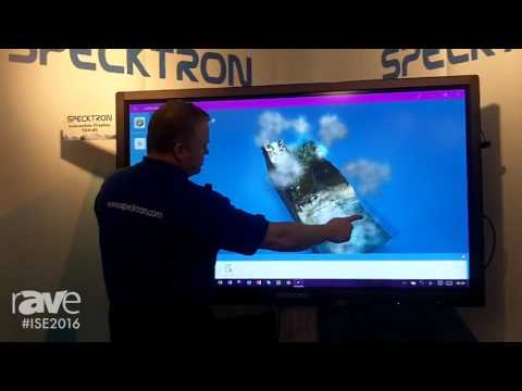 ISE 2016: Specktron Discusses Their Hopefull European Development and TDX-65 Interactive Display