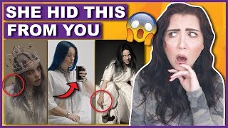 What Billie Eilish Hid From You In Her Music Videos