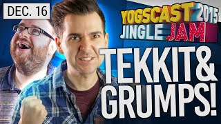Yogscast Jingle Jam 2015 - Dec 16th! TEKKIT!