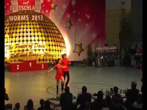 Valerie Lisa Marie Kouchen & Lars Dietrich - Großer Preis von Deutschland 2013