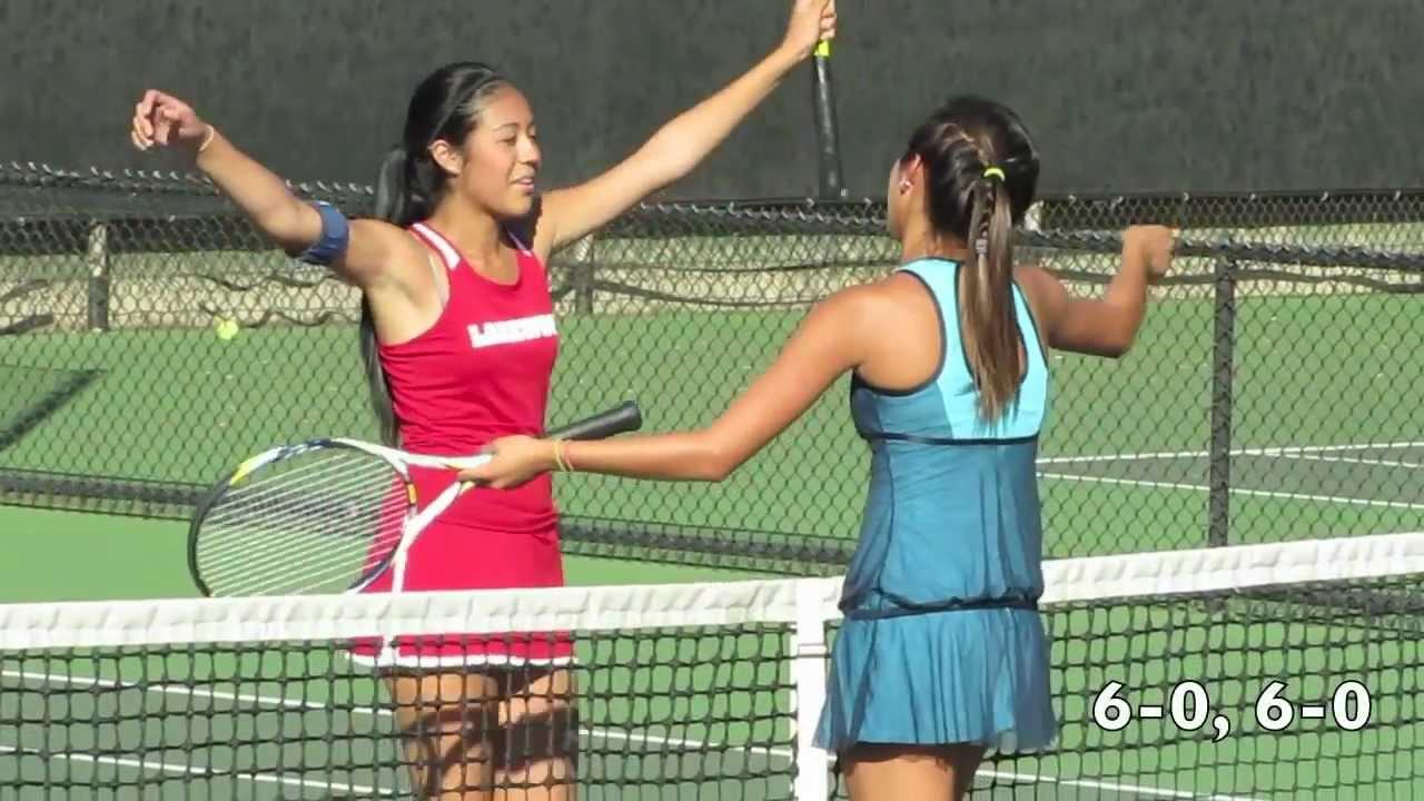 High School Girls Tennis Moore League Finals 2012 - YouTube