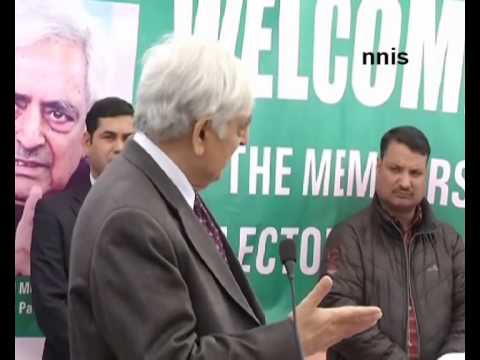 Track 2 Dialogue With BJP On Says Mufti Mohammed Sayeed