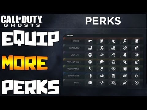 How to Get MORE Perks in Call of Duty Ghosts