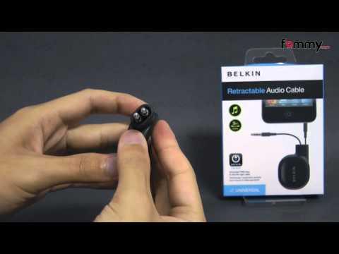 Belkin� 3.5mm Retractable Audio Cable