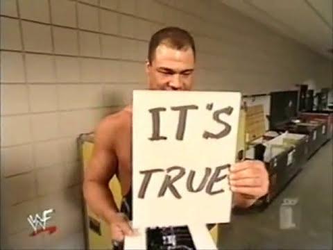 Edge Makes Fun Of Kurt angle