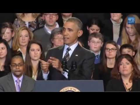 Hecklers Yell At President Obama During Speech: 'That is a Lie' (FULL VIDEO)