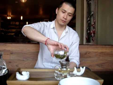 CHA GUAN La Maison du Thé Montreal Tea House - Chinese Tea Ceremony - Ming Ching Long Jing