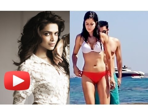 Deepika Padukone Taunts Katrina Kaif Over Her Leaked Bikini Pictures video