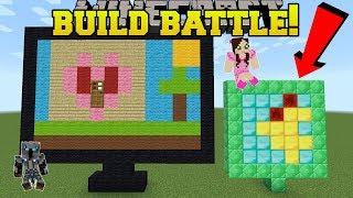 Minecraft: BUILD BATTLE!!! - SWAP STYLES CHALLENGE! - Mini-Game