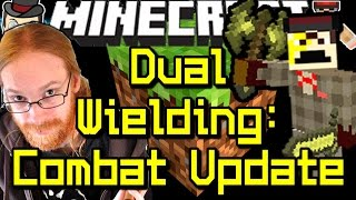 Minecraft News 1.9 COMBAT UPDATE - Dual Wielding & More!