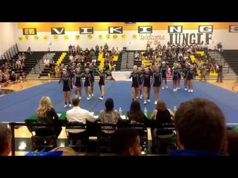 Woodgrove High School Cheerleaders- Purcellville, VA - Valley Spiritfest