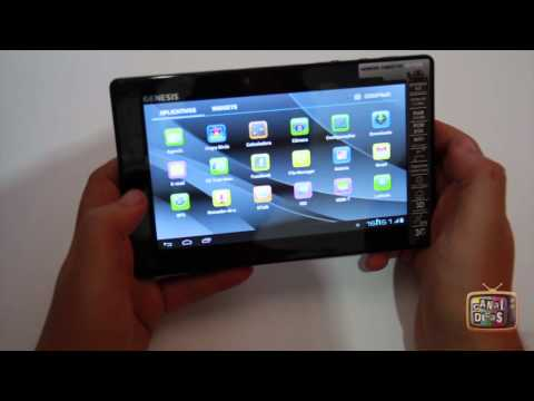 Review Tablet GENESIS GT-7230 #Basico