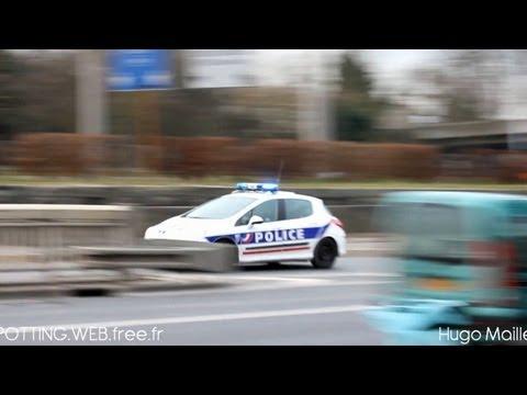 Police Nationale | Peugeot 308 et Citroën Berlingo