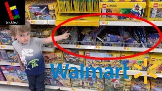 Our Walmart's LEGO Polybag Section is TERRIBLE