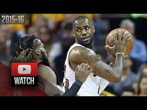 LeBron James Full Game 2 Highlights vs Raptors 2016 ECF - 23 Pts, 11 Ast, 11 Reb, SICK