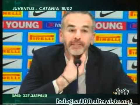 Bologna FC 1909 17/02/2012 Inter – Bologna 0-3 Pioli in sala stampa
