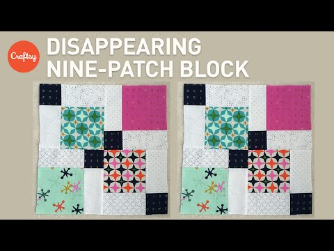 Quilting with Charm Packs: Disappearing Nine-Patch Block   Quilting Tutorial with Angela Pingel