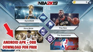 NBA 2k19 Android Gameplay + Download Links