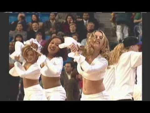 NBA Live 2000 Real Life Cheerleaders of the Eastern Conference Central Division