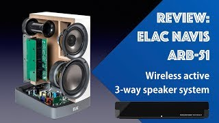 Elac Navis ARB 51 Active wireless speakers