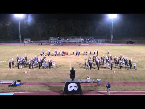 Palm Harbor University High School Marching Band featuring Palm Harbor Middle School Band
