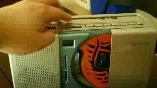 My Emerson AM/FM Radio/CD Player
