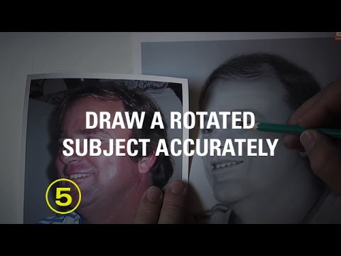 Draw Accurate Proportions Even When Your Subject Is Rotated — A Drawing Critique