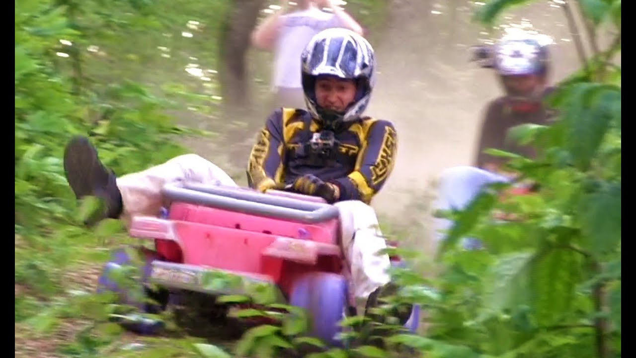 Extreme barbie jeep racing 2013 at rbd #5