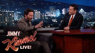 Jimmy Kimmel Asks Keanu Reeves Random Questions