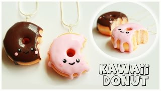 polymer clay Kawaii Donut/Doughnut TUTORIAL