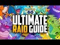 Pokemon Go - THE ULTIMATE RAID BOSS GUIDE! (BEST COUNTERS FOR ALL RAID BOSSES!)